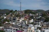 View on the Acapulco de Juarez city in Mexico
