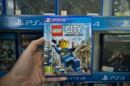 Lego city undercover videogame on