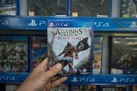 Ассассинс Крид черный флаг видеоигра