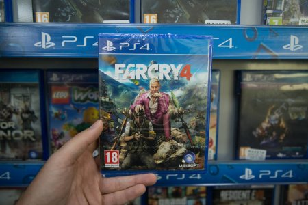 Farcry 4 videogame on Sony