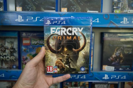 Farcry Primal videogame on Sony
