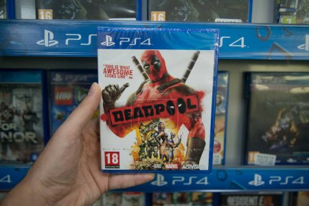 Deadpool videogame on Sony Playstation