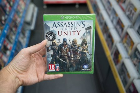 Assassins creed Unity videogame on