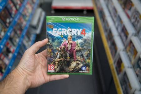 Farcry 4 videogame on Microsoft