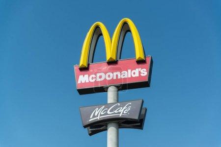Nitra, Slovakia, march 28, 2018: McDonalds fastfoo...