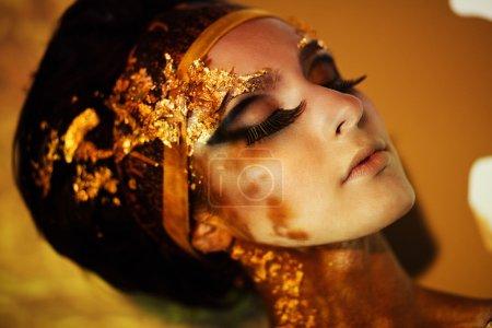 Woman as Goddess Isis
