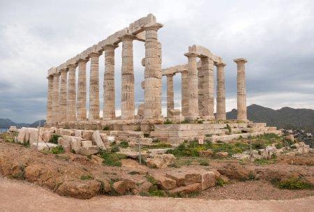 The Temple of Poseidon in Sounio