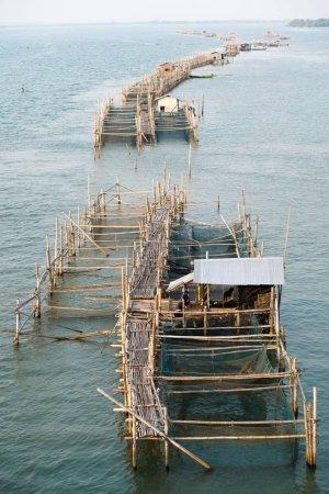 Fish farming aquaculture buildings