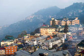 Centre of Darjeeling hill town