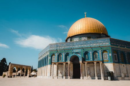 Square of Dome of the rock