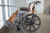 Photo of wheelchair in hospital