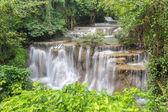 Waterfall , Hua Mae Kamin level 4 ,Kanchanaburi ,Thailand