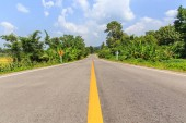 Road to Jaeson National Park, Lampang Province, Thailand