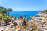Tropical beach beautiful sea and blue sky at Similan island, Andaman sea, Thailand