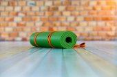 Yoga mat green colour