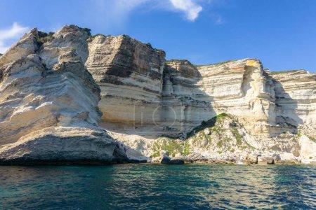 Photo pour Vue de la plage d'Ostriconi avec une belle lagune maritime, île de Corse, France - image libre de droit