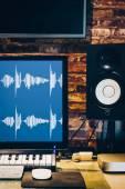 music recording technology, home studio concept