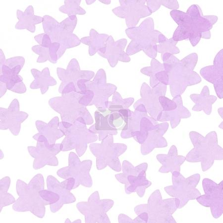 abstract seamless pattern of stars