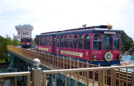 CHIBA JAPAN Disney Electrical Railway