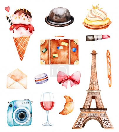Beautiful Paris set