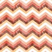 Seamless zigzag pattern with grunge texture Vector illustration ZIg Zag