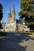 Olomouc, Česká republika - Kristýna 25, 2016: Katedrála svatého Václava v Olomouci