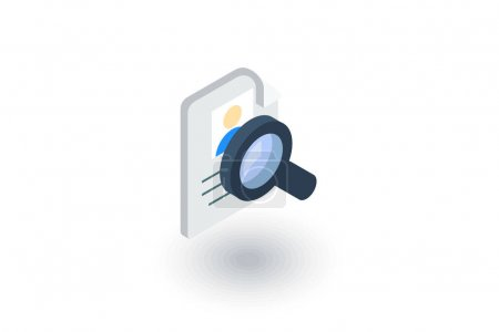 Resume search icon