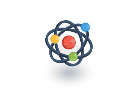 Atom, Physic Symbol icon