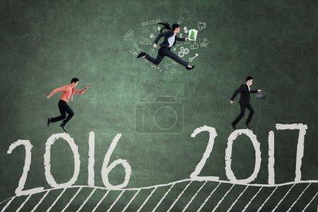 Entrepreneurs compete to reach 2017