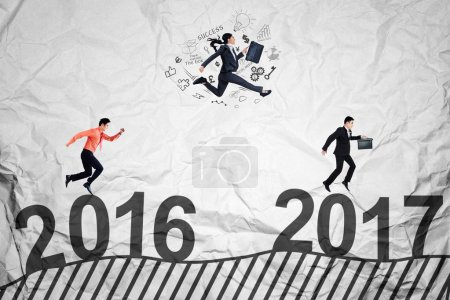 Workers compete toward 2017