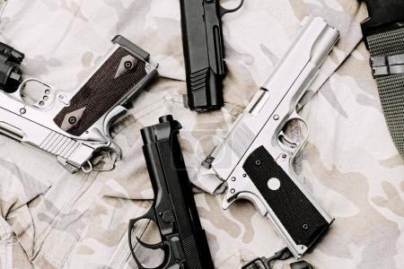 Handgun, semi-automatic.