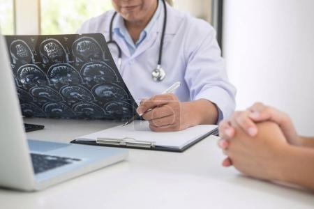 Professor Doctor report and recommend a method with patient trea