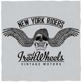 New York Riders Poster