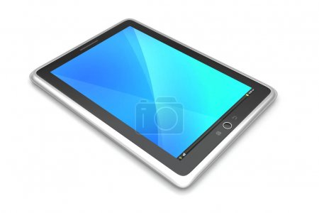 Photo for Touch screen tablet computer - Royalty Free Image