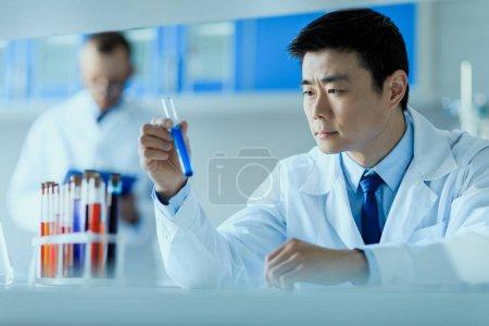 scientist working in laboratory