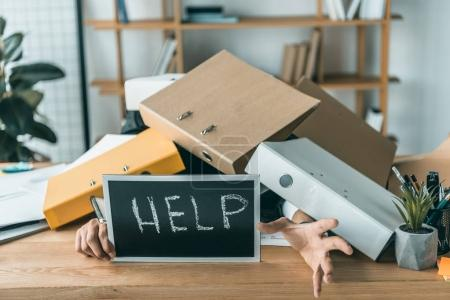 businessman missing deadlines