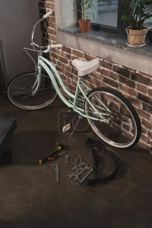 Repaired female bicycle