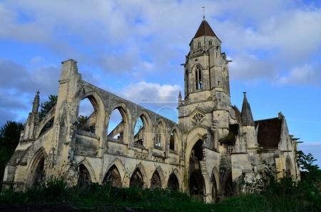 Saint-Etienne-le-Vieux church of Caen, Normandy, France.