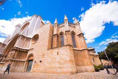 TARRAGONA, SPAIN - MAY 1, 2017: Cathedral of Tarra...