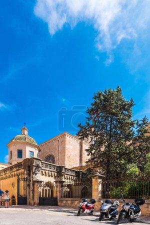View of the Tarragona Cathedral (Catholic cathedra...