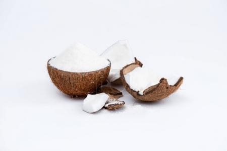 organic coconut with shavings