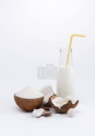 Coconut milk and nut