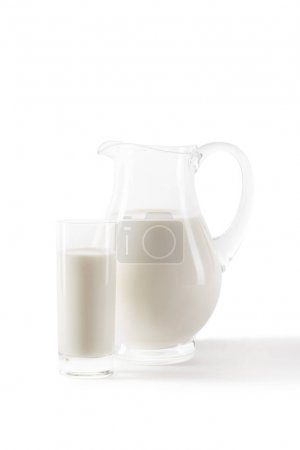 fresh milk in glass