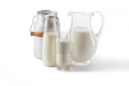 fresh milk in glass