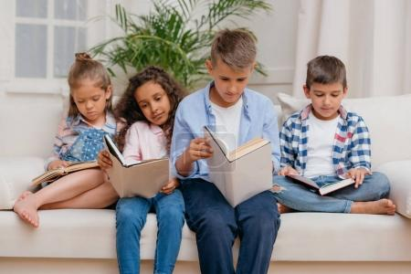 multicultural children reading books
