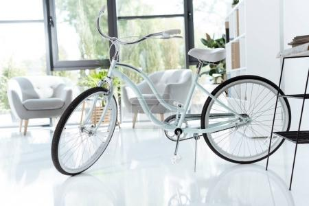 Bicycle in modern office