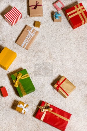 Christmas gifts background
