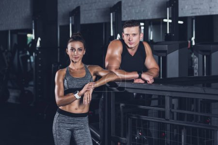 athletic couple