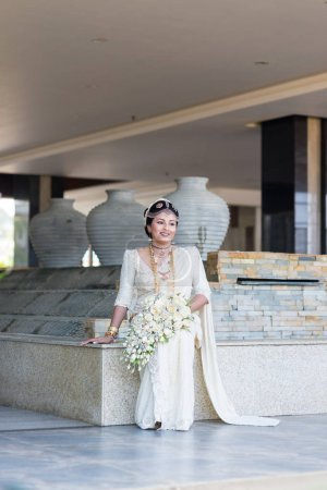 bride in traditional dress