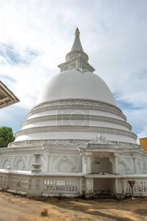 Photo for Beautiful stupa dome at buddha temple in Sri Lanka - Royalty Free Image